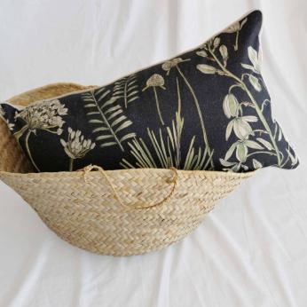 Botanical Hemp Scatter Cushion Cover