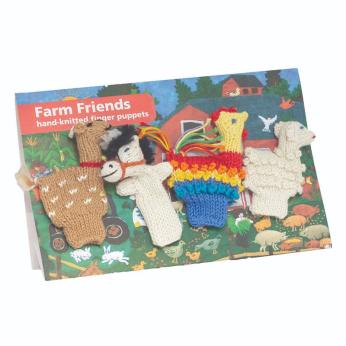 Farm Friends Finger Puppet Story Pack