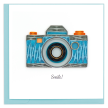 Quilled Camera Greeting Card