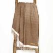Soul COCO Brown Ombre + Cream Stripe Blanket