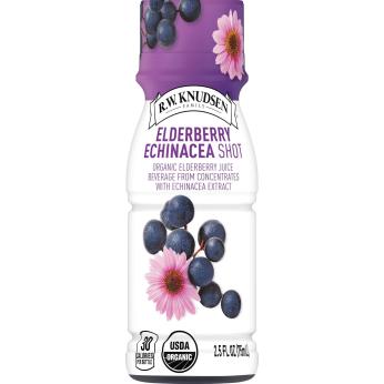 R. W. Knudsen Organic Elderberry Echinacea Juice Shot