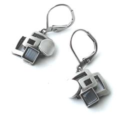 09.Handmade Jewelry - LEVER-BACK EARRINGS (X)