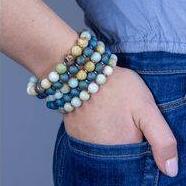 Lunar Revolution - Druzy & Gemstone Bracelets