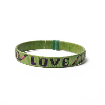 Cartegena LOVE Bracelet - Green