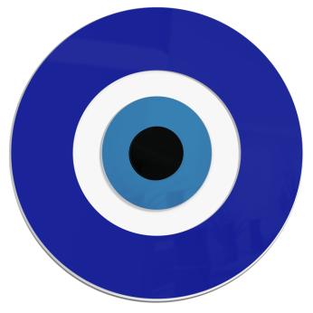 Minimalist Evil Eye | 3D Wall Hanging | Ready to Hang