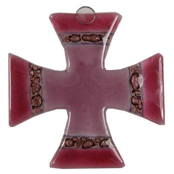 Glass Cross Malta Two Colors