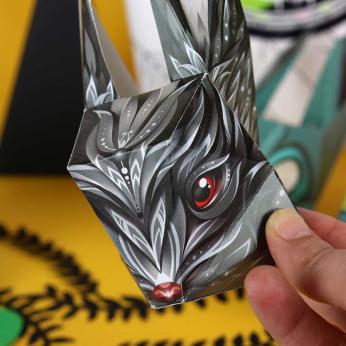 Autumn Mr Rabbit Mini Series by 3 Artists