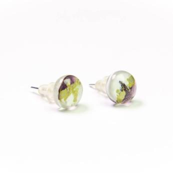 Two Colors Stud Earings