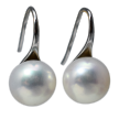 Kate Carr Button AAA Pearl Earrings