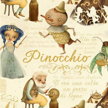 Pinocchio Wrapping Paper by KARTOS