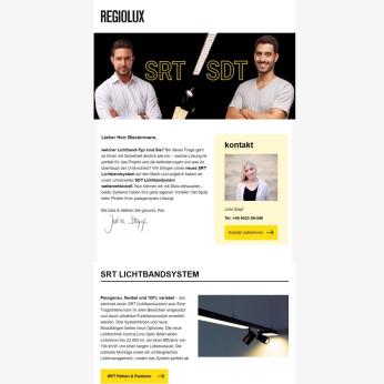 Regiolux Newsletter