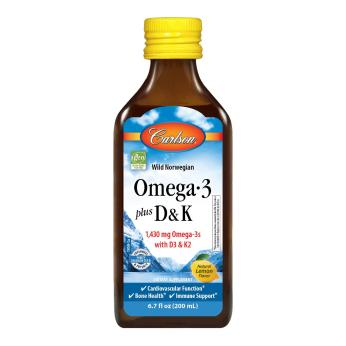 Omega-3 + D & K
