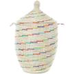 Vanilla Sugar Swirl Large Laundry Hamper Storage Basket
