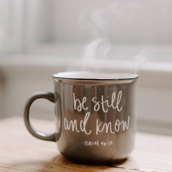 Scripture Inspirational Ceramic Coffee Mugs