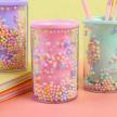 Candy Dots Stationery Pen Holder - Pink