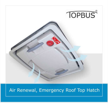 Automatic and emergency, roof top hatch