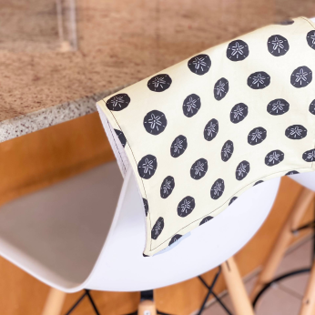 Sand Dollar Utility Towel - Dishcloth and Paper Towel in One - NEW!