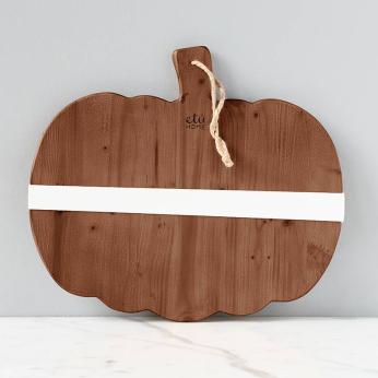 Natural Mod Pumpkin Charcuterie Board, Small