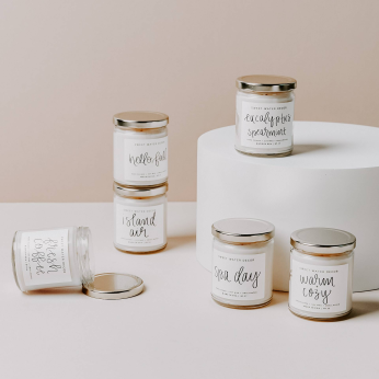 Clear Jar Spa Candles - Made In USA