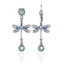 Nalani Sorbet Light Blue Dragonfly Earrings