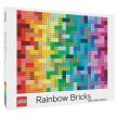 LEGO Rainbow Bricks Puzzle