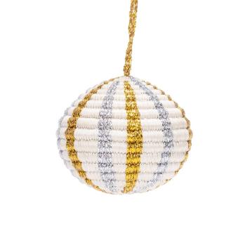 Globe Multi Metallic Ornament