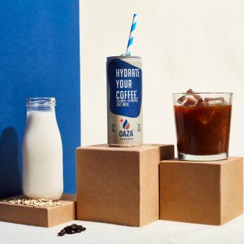 Oatmilk Cold Brew + Electrolytes