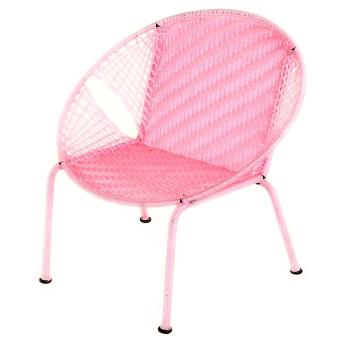 Pink Petite Peekaboo Chair