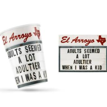 El Arroyo Party Cups