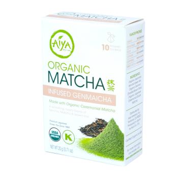 Organic Matcha Infused Genmaicha