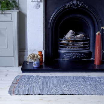 Margo Selby X Love Welcomes Handwoven Welcome Mat