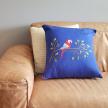 Hand Embroidered Pillow Case - Maritaka Bird