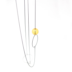 Halo & Orb Necklace-21502