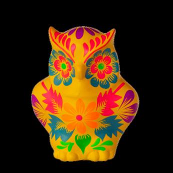 Fiesta Owl Yellow - Small