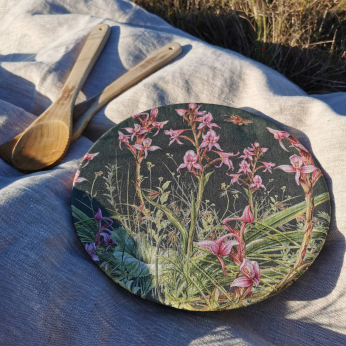 Mountain Orchids Dish Covers