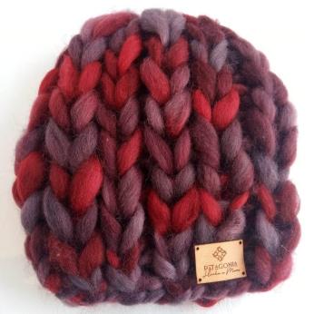 Natural fleece hat