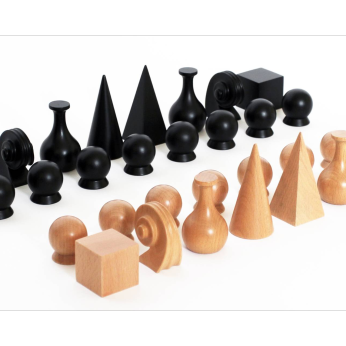 Man Ray 1920 Chess Set, pieces only