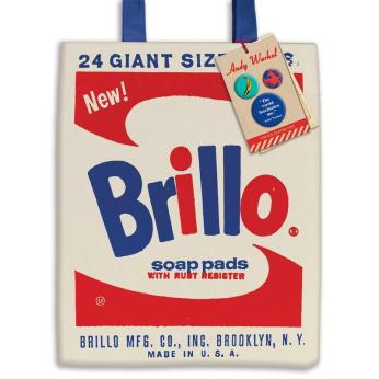 Andy Warhol Brillo Tote Bag