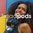 Headpods ANC, Active Noise Cancelling Over ear Bluetooth headphones