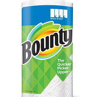 Bounty Paper Towels - Made from renewable energy source