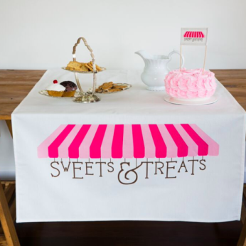 Sweets and Treats Table Banner