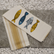 Colored Fish - Kitchen Towel Due Fragole