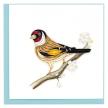 Quilled European Goldfinch