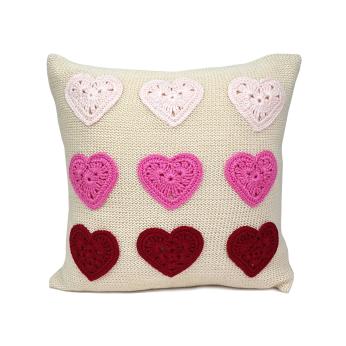 Valentine Hearts Pillow