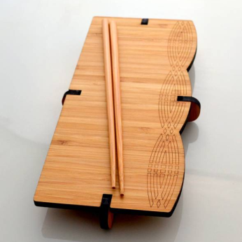 Bamboo Sushi Serving Boards