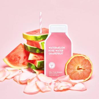 The Pink Dream Moisturizing Raw Juice Sheet Mask