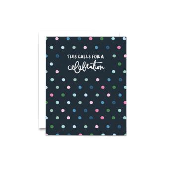 Celebration Dots Birthday Card