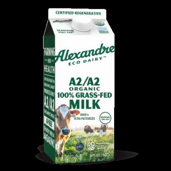 Alexandre Family Farm/EcoDairy 100% Grassfed A2/A2 Organic 59 oz. milk