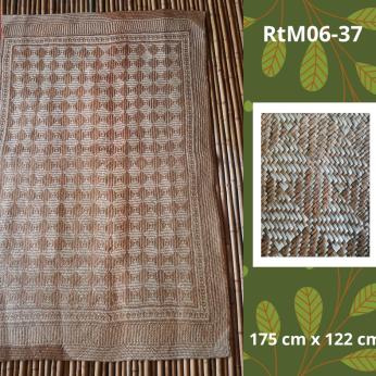 TWWA Tagolwanen Handwoven Sodsod Grass Rectangular Mat (6 ft x 4 ft)