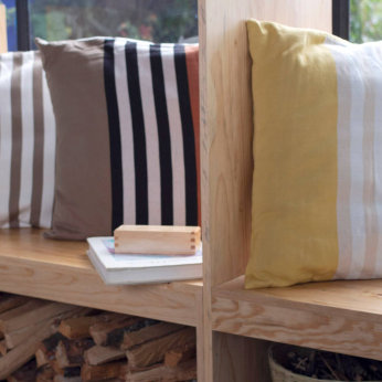 LARGE SIMPLE STRIPE PILLOW (3 colorways)